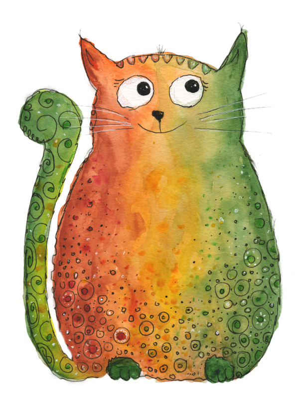 Bild Happy Cat Katze
