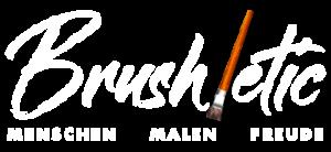 Brushletic - Menschen - Malen - Freude
